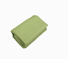 Wholesale high quality plain colored waffle cotton tea towels
