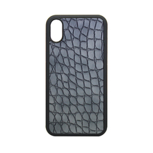 2017 new arrival leather case ,TPU + PC crocodile pattern shell excellent sale phone hull for iPhone8