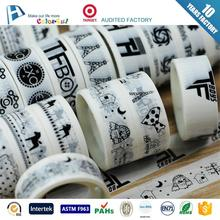 Hot selling 2017 custom washy tape made in china