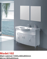 bathroom mirror cabinet with two sinks from Zhejiang
