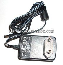 12V1.5A switch mode power supply with UL,CE,FCC,GS certificate