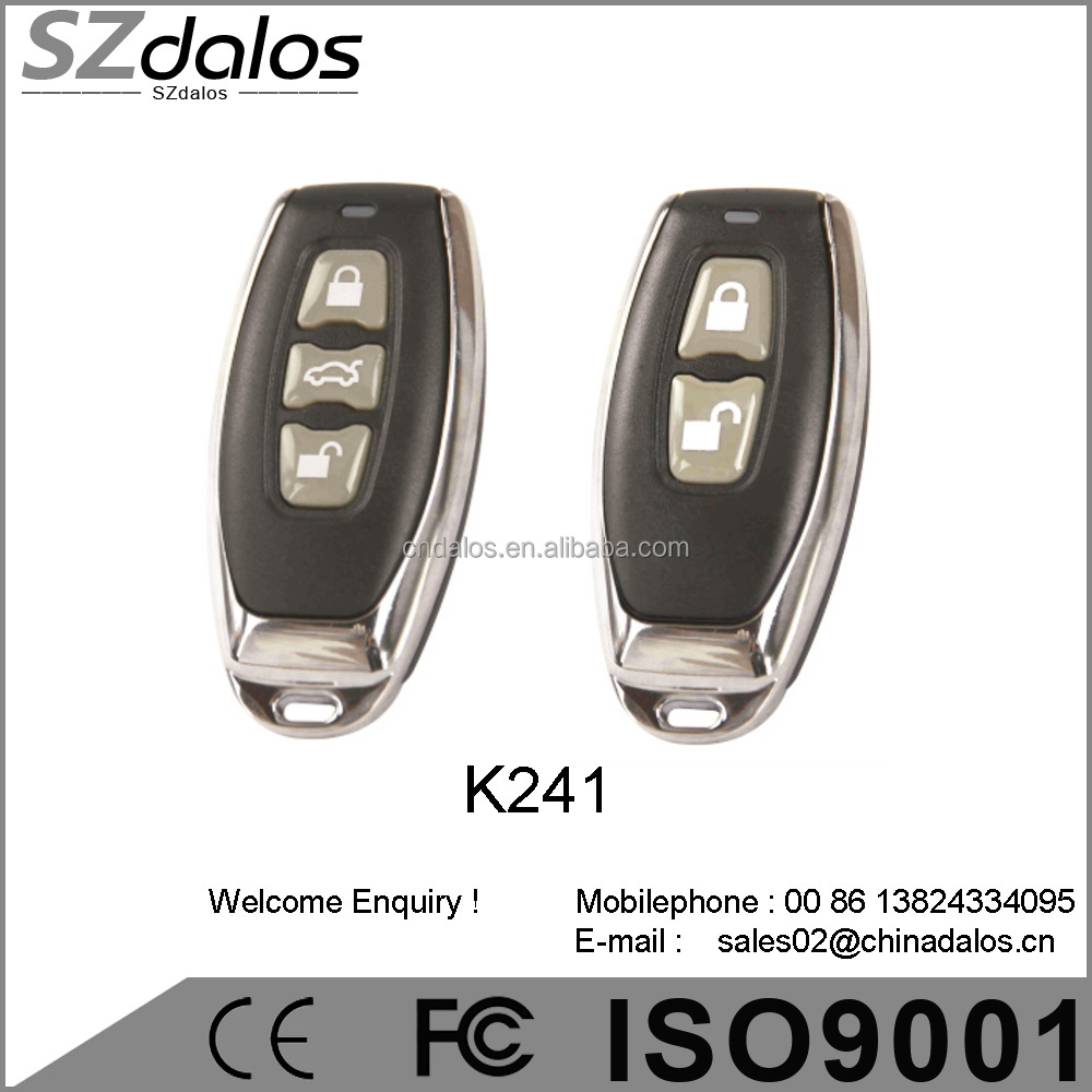 Multi frequency universal gate remote control duplicator