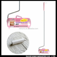 China supplier household carpet cleaning tape remove hair/dust/fur lint roller