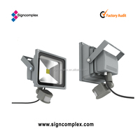 Infrared and light detected 30W Led Flood Light IP54