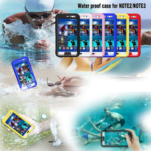 Waterproof Sealed Underwater Diving Clear Case For Samsung Galaxy Note 3