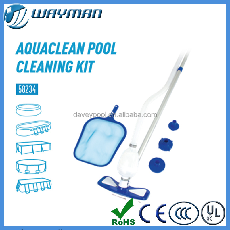Outdoor BESWTWAY pool use surface skimmer,pools Cleaning Kit