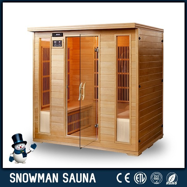 4~6 Person Hemlock Portable Far Infrared Carbon Sauna Cabin