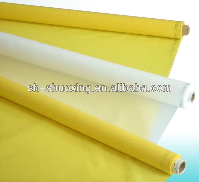 High tension polyester silk screen printing mesh,screen printing mesh
