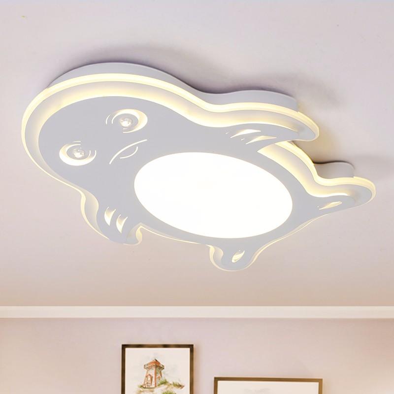 nuevo diseo llev la luz de techo moderna forma de pingino de luminarias de lmpara de