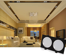 dimmable led downlight black, square led downlight retrofit