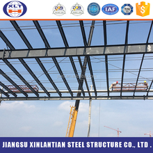 Hot sale low cost structural steel prefab warehouse building in Russia
