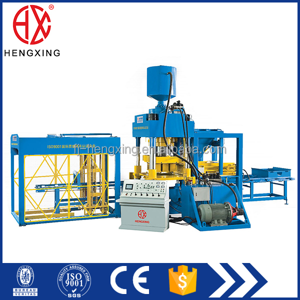 HZY8500 Automatic Hydraulic Press concrete brick making machine, Concrete Paver Block Moulding Machine, soil brick machine