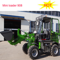 0.8ton mini engineering and construction farmming machine