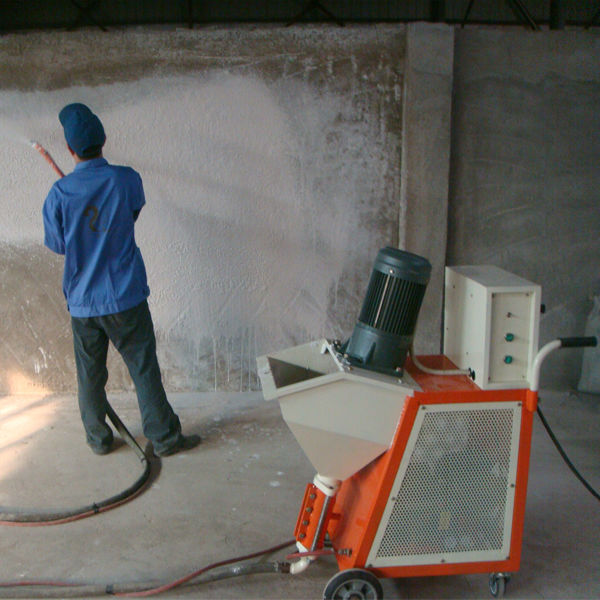 Spray On Plaster For Walls : Spray plaster machine sp for painting various kinds of