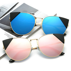 New Design Party Glasses Cat Eye Fashionable Sunglasses Women 2017