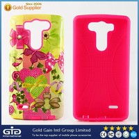 For LG G3 mini Case 2 in 1 of TPU+PC Material