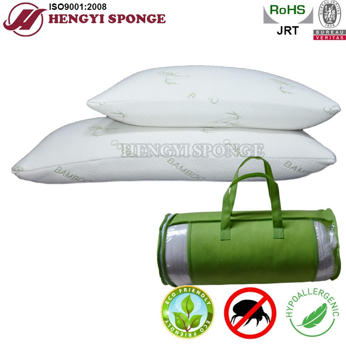 High density hotel pillow 5 star/shredded memory foam pillow/Bamboo pillow/