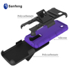 Hot selling Shockproof slim armor silicone PC kickstand case for LG K7