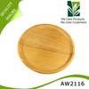 High demand round wood cutting board