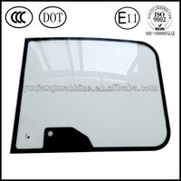 agricultural tractor glass with E-MARK certificatioin windscreen