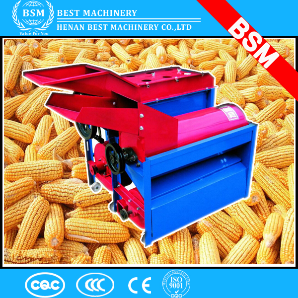 Fresh sweet corn/maize thresher/peeler/sheller machine