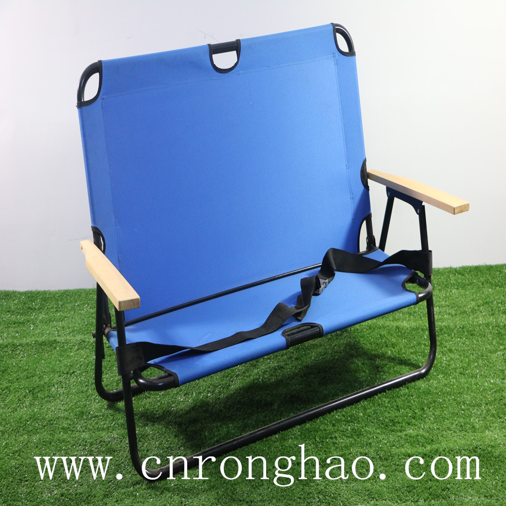 Double folding chair