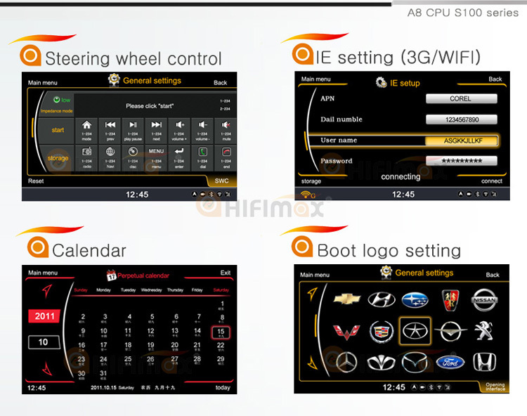 Hifimax car gps dvd for VW Sharan(2000-2009) Car DVD GPS with A8 CHIPSET DUAL CORE 1080P V-20 DISC WIFI 3G INTERNET DVR