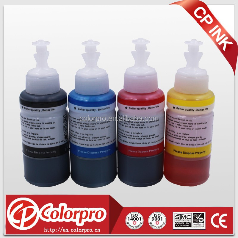 T664 ink for epson L210 ink for epson L100 L200 L300 L350 printer 70ML bottle refill ink