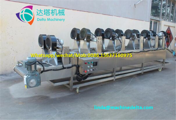 Fully automatic potato chip machine,natural potato chips making machine,fresh potato chips production line