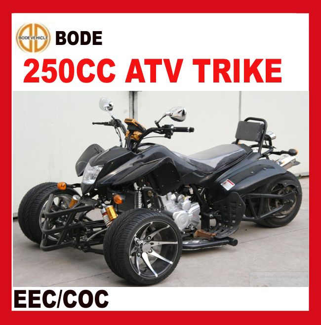 Manual clutch 4-speed reverse gear 250CC ATV Quad Trike (MC-366)