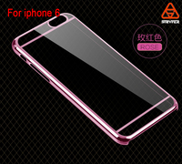 Luxury phone case electroplating case for iphone 6 /plus cover ,electroplate laser case for iphone 6 /plus