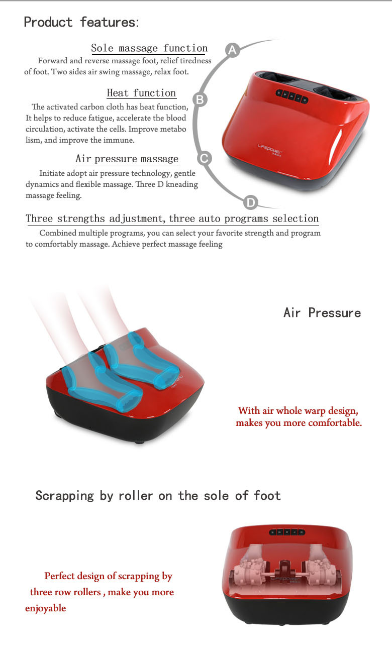 2015 latest foot massager, hot sale foot massager,shiatsu massage foot & ankles massager