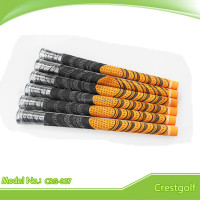 Multicompound Orange Rubber Golf Grips NEW