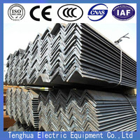 Factory direct wholesale hot dip galvanized Steel Angle iron with holes