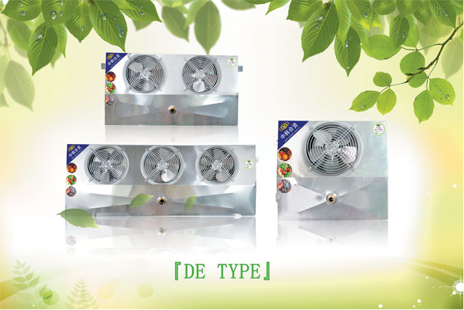 Factory High Quality Air Cooled Evaporator DE-2.5 for Small Cold Room,Cold Storage