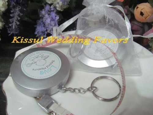 Baby souvenirs of Love Beyond Measure Measuring Tape Key chain Baby Birthday Gift and favor