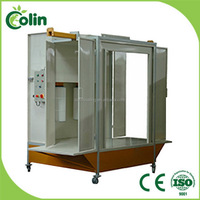 Cheap industrial promotional water curtain paint spray booth price