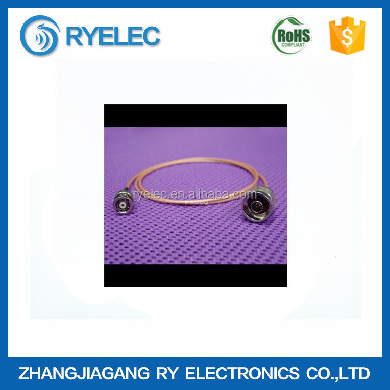 BNCM-NM RF Coaxial Connector and RF Cable AssemblyRG174/178/316 for WLAN/WiMAX/GPS/GSM Antenna