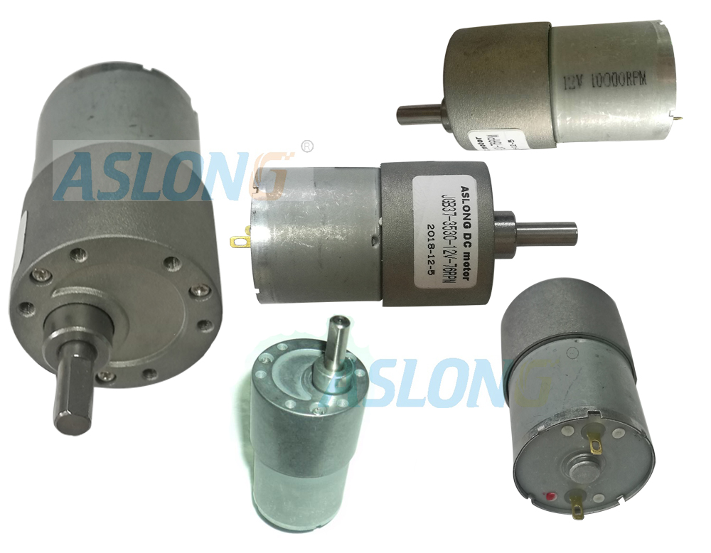 JGB 37-3530 Different Voltage And Speed Mini DC Reducer Motor With Gear Box