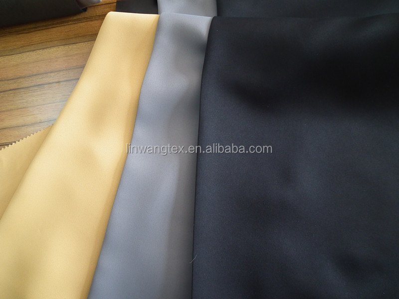 100% polyester 3 pass blackout curtain fabric