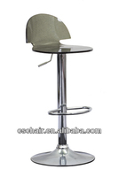 clear and colorful acrylic bar stool/bar chair