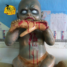 Wholesale halloween items haunted house decorations horror baby zombie