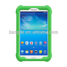 custom kids silicon case for samsung galaxy tab3 8.0 kids friendly OEM shock resistant