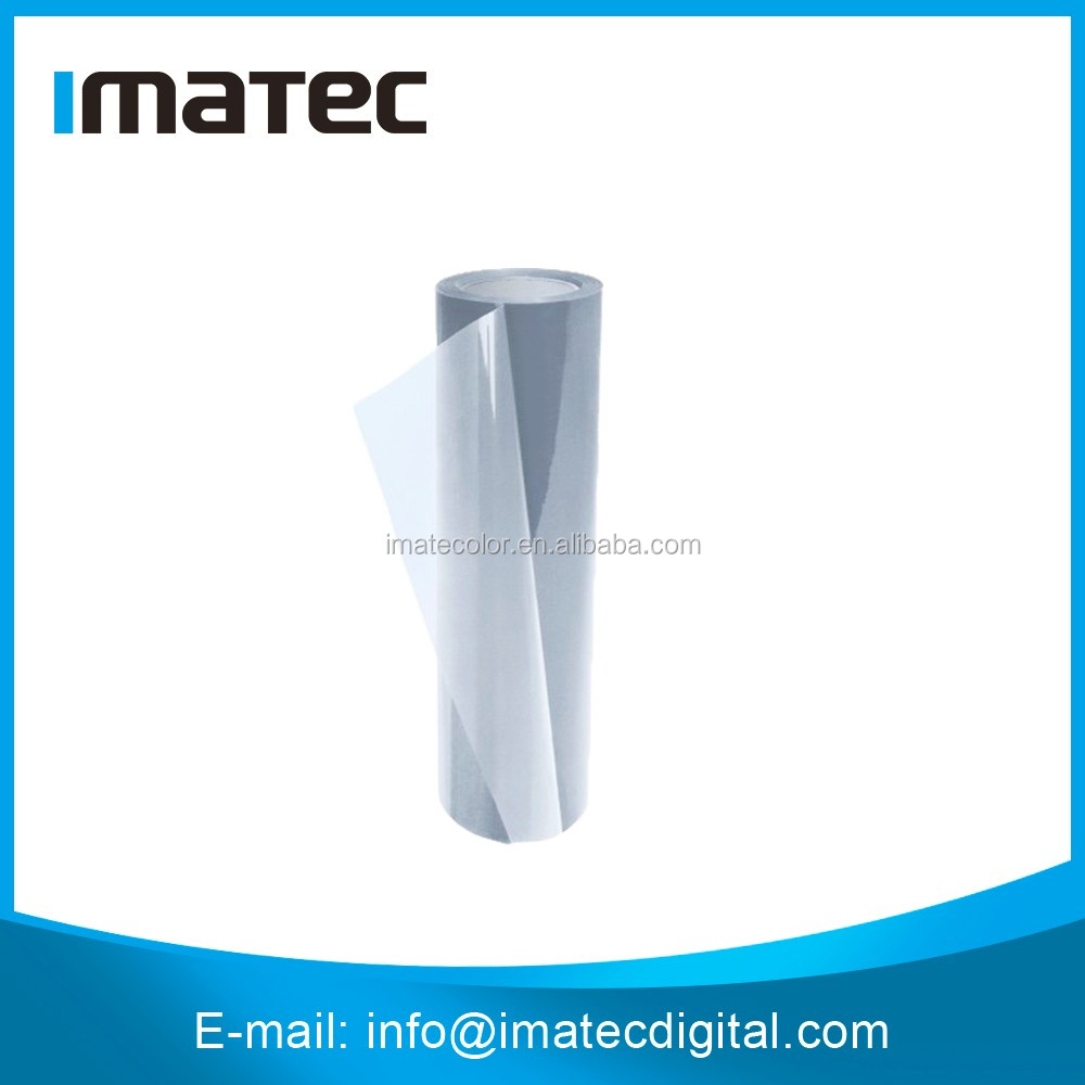 100 Microns Fully Clear Non - waterproof Dye Ink Based Inkjet Transparency Film