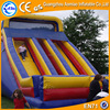 0.55mm PVC largest inflatable slide, standsrd air blower for water slide/slip and slide