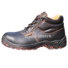 NMSAFETY 2016 high quality industrial security equipment cow leather work safety boots or work safety shoes