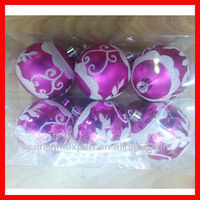 2013 various cheap transparent christmas balls for christmas tree