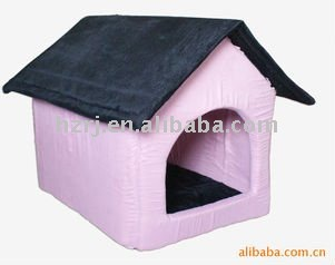 Pink large dog house