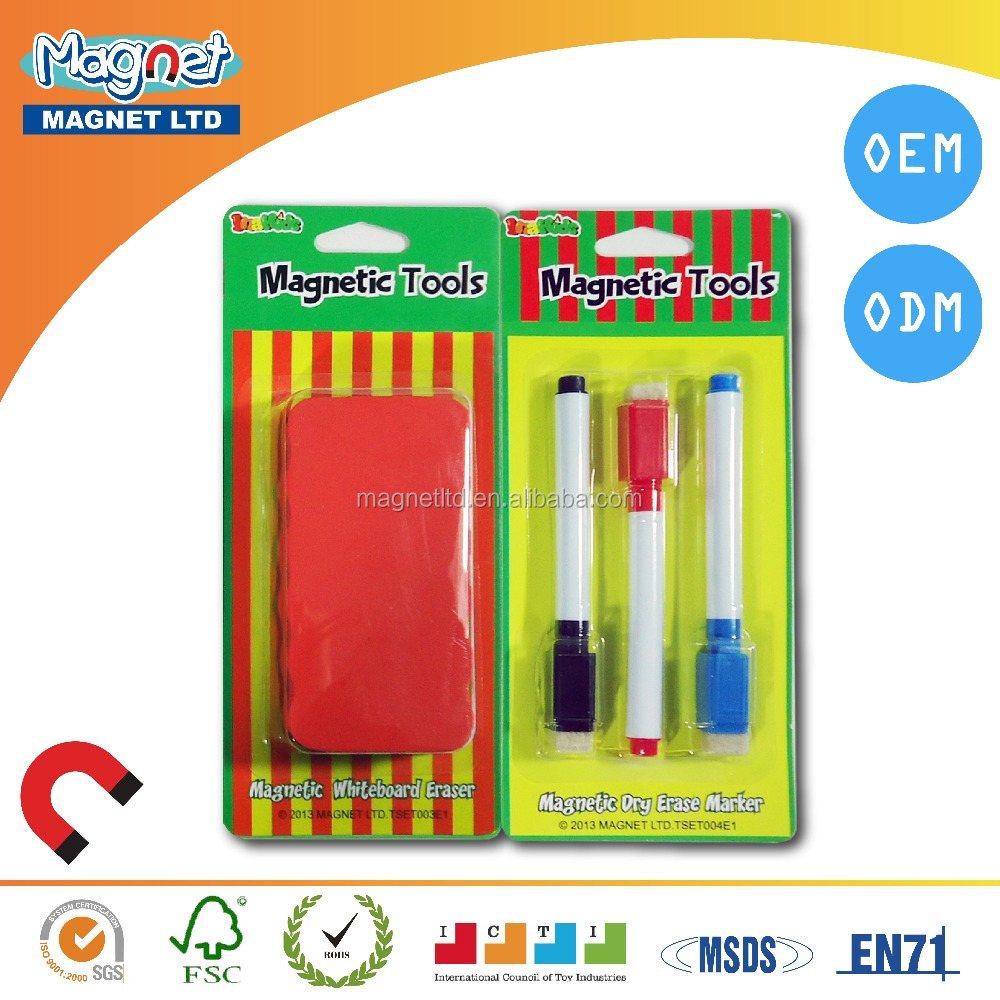 Magnetic Eraser & Pen
