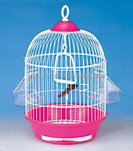 low price custom outside feeding cups circle parakeet bird cages sale 23A-A